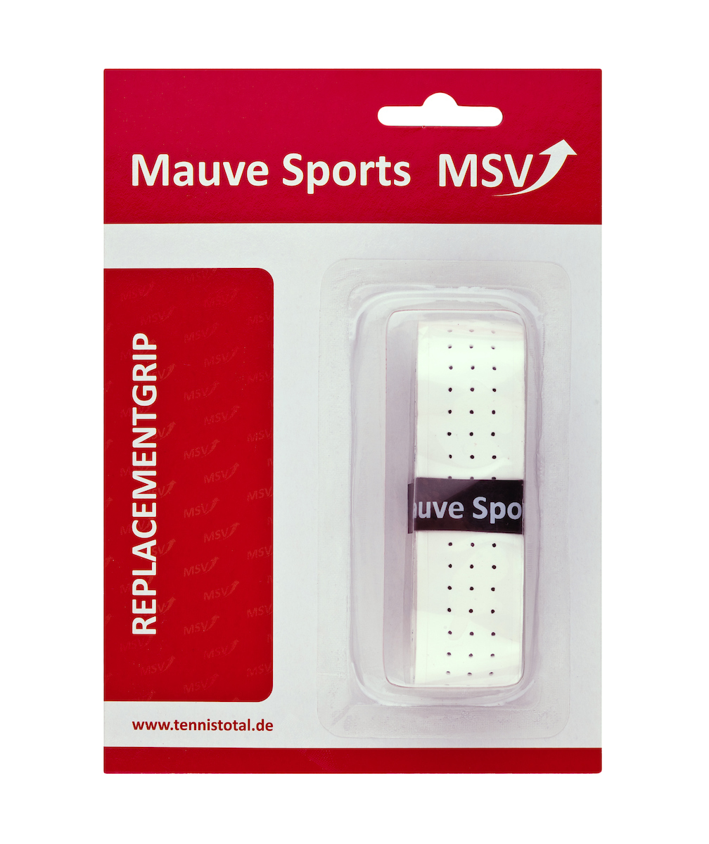 MSV Basic Grip Soft Tac perforated, weiß