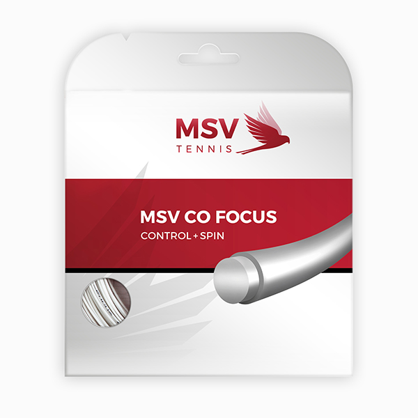 MSV Co Focus Tennis String 12m 1,18mm white